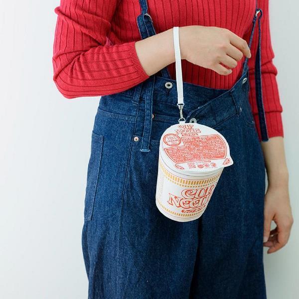 【付録】カップヌードルのポーチめっちゃ可愛い!本物っぽい作りがたまらん。